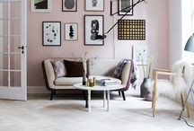 Charis White - Pale pink interiors / Inspiration for interior decorating Pantone 2016 Rose Quartz. Read more about 'blush' or pale pink on my blog: Indigo and Blush interiors and fashion trend: www.chariswhite.com