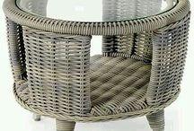 мебель плетёная