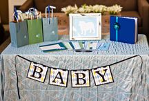Bulldog baby shower / Bulldog themed baby shower.  Cherish Paperie created all of the charming paper goods to pair with the event.  http://cherishpaperie.com/