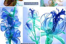 Výroba z plast. lahví