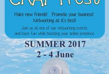 Summer #CRAFTfest 2017 / Browse through a wealth of AWESOME handcrafted products which you can purchase during our June Event. wwww.craftfest-events.com