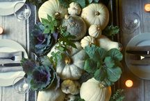 Give thanks / Thanksgiving/Autumn decorating and food ideas