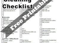 House Cleaning Checklist