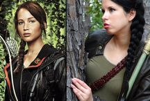 Katniss Everdeen and HG / Tattoos, HG, Catching Fire, and Mockingjay humour, pictures for cosplaying, YouTube hair/make up tutorials and quotes..... :)