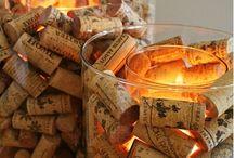 Bougies et Lampes / Des idées pour des ambiances lumineuses éclairées !