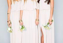 Bridesmaid bohemian