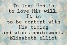 Elisabeth Elliot / Quotes, books, and so on about Elisabeth Elliot.  She has been a spiritual mother to me.   / by Elaine Mazzo