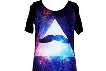 Galaxy tričká / Krásne 3D moderné trička s rôznymi motívmi