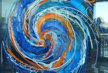 Whirls & Spirals / Whatever winds and circles around a center