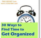 Miscellaneous Organizing Ideas