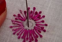 Embroidery Stitches & Tutorials