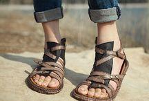 sandálias handmade