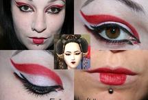 geisha makeup/clothing/hair / by Sara Ford
