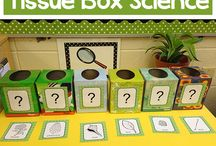 """Teach with Trash / Ideas for using """"trash"""" recyclables to teach! / by Karen Cox @ PreKinders"""