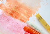 Gelatos and Pitt Brush Pens - Faber Castell / Any tutorials or inspiration using these products