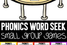 Small Group Reading Games