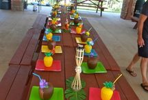 Luau kids party