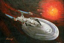 Star Trek / Obra realizada a pedido, para el local Camelot Comics Store (1999).