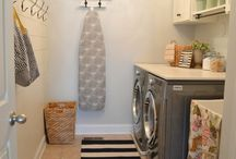 Laundry/storage room