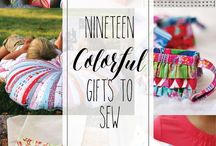 Gifts to sew and make