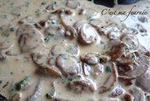 Sauce champignons porto