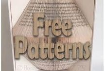 Book folding patterns templates