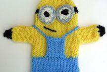 knit handpuppet