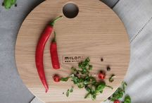 KITCHEN INSPIRATIONS / Wood kitchen gadgets, cutting boards.
