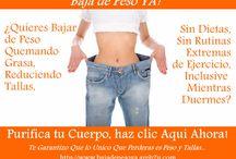 Consejos Para Bajar de Peso y Tallas / by Baja de Peso Ya