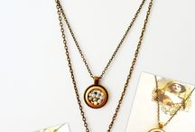 Vintage handmade necklaces / handmade necklaces by an-dorablelifeJWLS We LoVe Vintage..