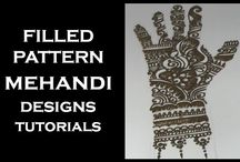 Latest Mehndi Designs For Hands / Here you can learn Latest and Beautiful Mehndi Designs For Hands