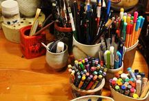 Artists, their environment and their tools