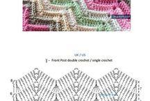 Horgolás minták