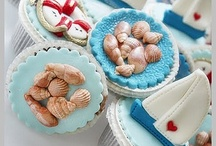 Cup cakes sailing
