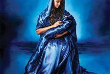 Jeesus vauva ja Maria