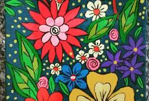 Meus quadros - My Paints / Pinturas em tela, pedra, papel e em qualquer lugar em que eu consiga expressar minha arte. Paintings on canvas, stone, paper and anywhere I can express my art.