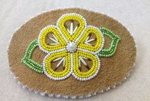 bead work / beading for crafts and mocassins