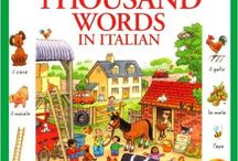 Italian books for children / Some of te books my kids used to learn Italian as fast as they could