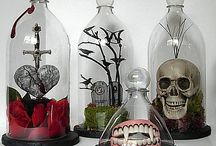 Soda bottles bell jars