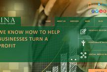 Sina Advisory Group | A Web Project / A Responsive WordPress Website designed & developed by Urbansoft.