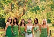 Green Bridesmaids! :-)