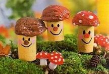 Práce - houby