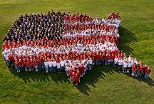 Celebrate America / #VikingUSA / by MaryAnn Lara