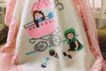 Bebek battaniye ve desenleri