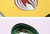 PAPER ART / collage découpage assemblage