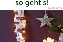 Tolle Adventskalender ♥ / Hier findest viele Tipps für kreative und wunderschöne Adventskalender. Viel Spaß beim Basteln und Verschenken!