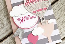 Up & away / Stampin up