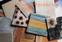 AZULEJOS DE CERÁMICA / trabajando en el taller de cerámica