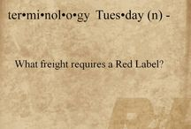Terminology Tuesday / by R+L Carriers