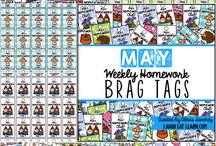 Classroom - Brag Tags